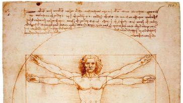 Rönesans'ın En Meşhur Eskizi: Vitruvius Adamı