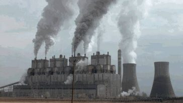 termik santral havaya zehirli gaz salıyor