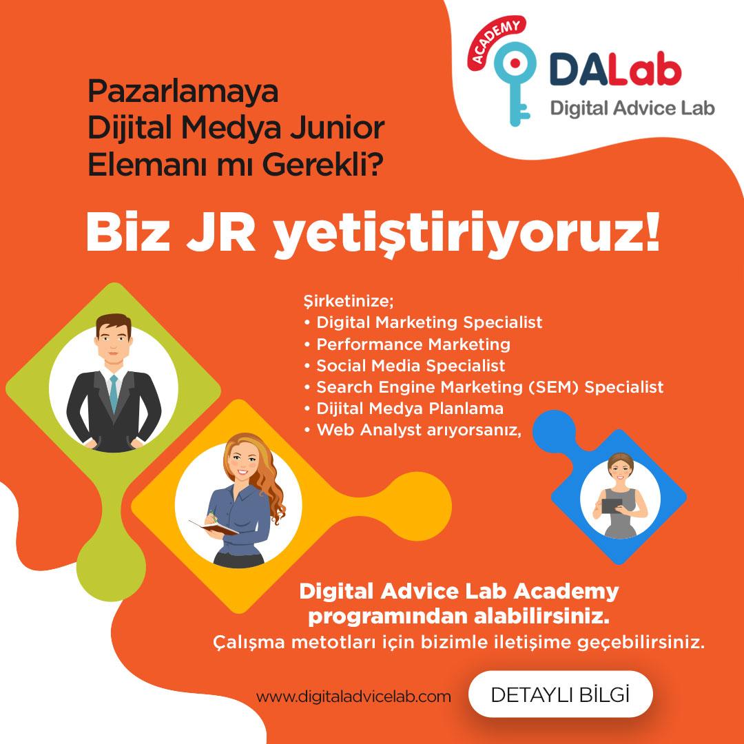DAL ile Dijital Medya için Kalifiye ''Junior'' Olmak